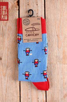 calcetines futbolin azules