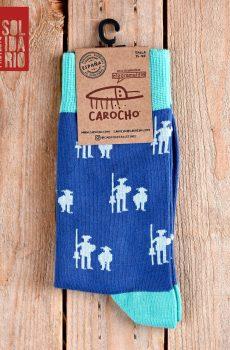 calcetines quijote azules