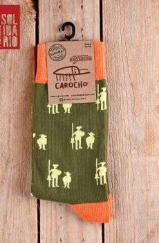calcetines quijote verdes