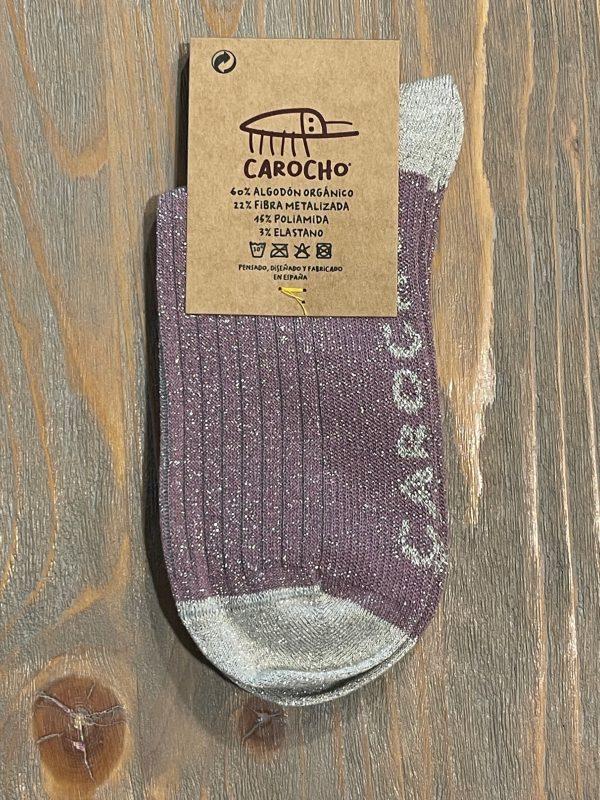 Comprar Calcetines Brillo Malva Solidarios - Carocho.com