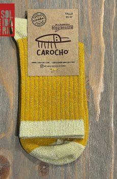 Comprar Calcetines Brillo Mostaza Solidarios - Carocho.com